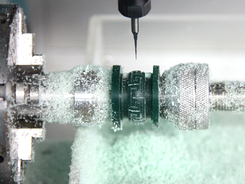 CNC Milling Rotary on process